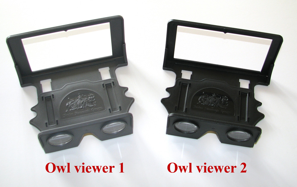 Owl 1 and 2 side by side